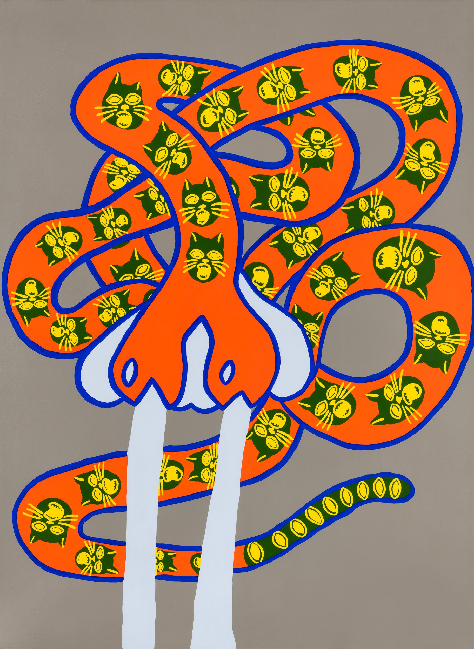 Tiger snake, fine art print